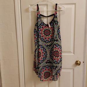 Xhileration printed dress LARGE